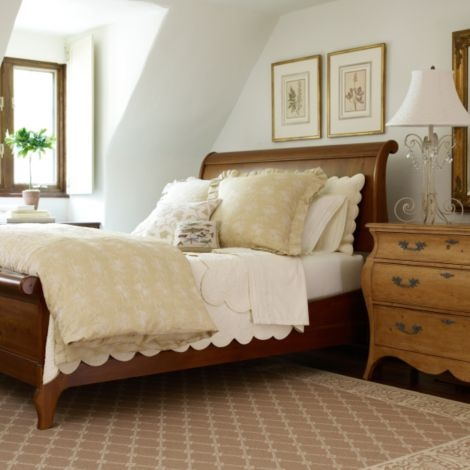Maison Sleigh Bed By Ethan Allen Home Sweet Home