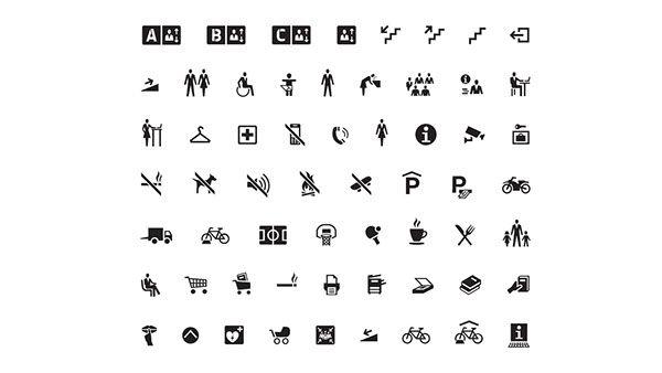 Bureau Bauer – Piktogramme #icon #icondesign #iconset #icons #pictogram #symbol #symbols #sign #signalethik #wayfinding #picto #navigation #guidance