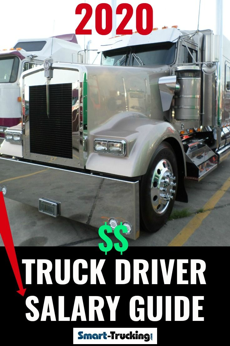 2020truck Driver Salary Reference Guide The Only One You Need In