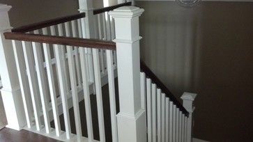 Tile Paint Trim Staircase And Design Traditional Staircase
