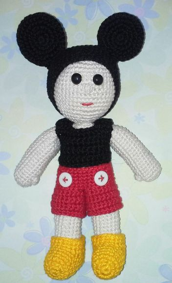 Crochet Mickey Boy
