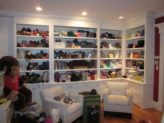 now this is a knitting room