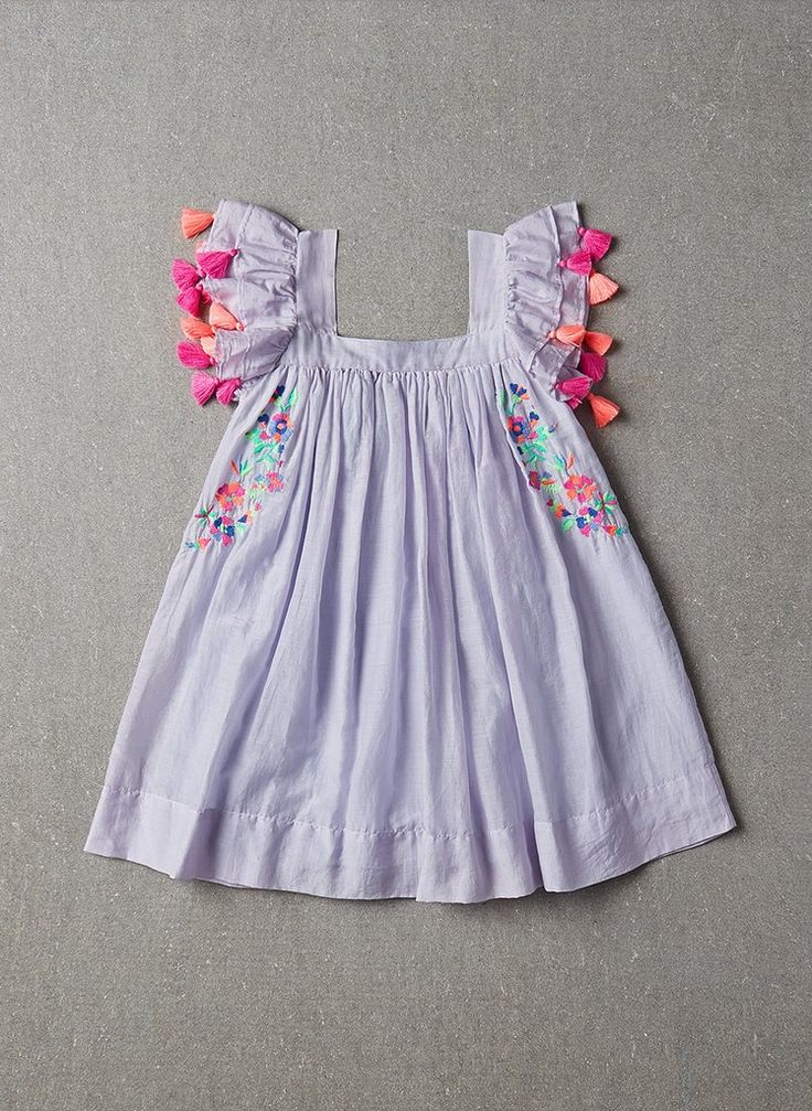 Nellystella Chloe Dress in Periwinkle - PRE-ORDER – Hello Alyss - Designer Children's Fashion Boutique