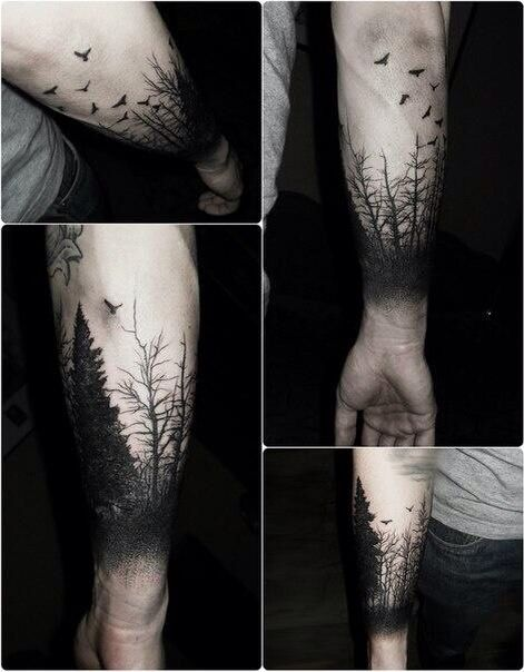 I want something kind of like this on my back.