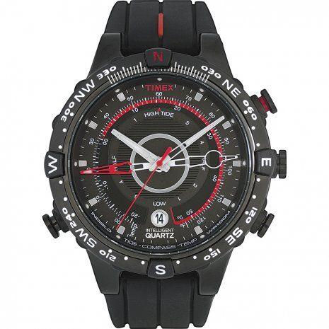 montre Timex T2N720 - IQ Tide Temp Compass