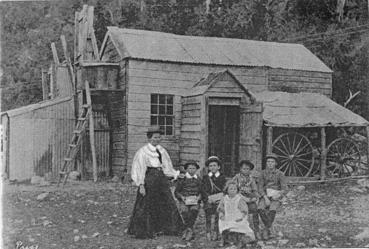 Sharing Otira School 1897 at West Coast New Zealand History