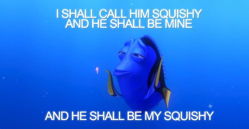 Finding Nemo-Dory is definitely my favourite character