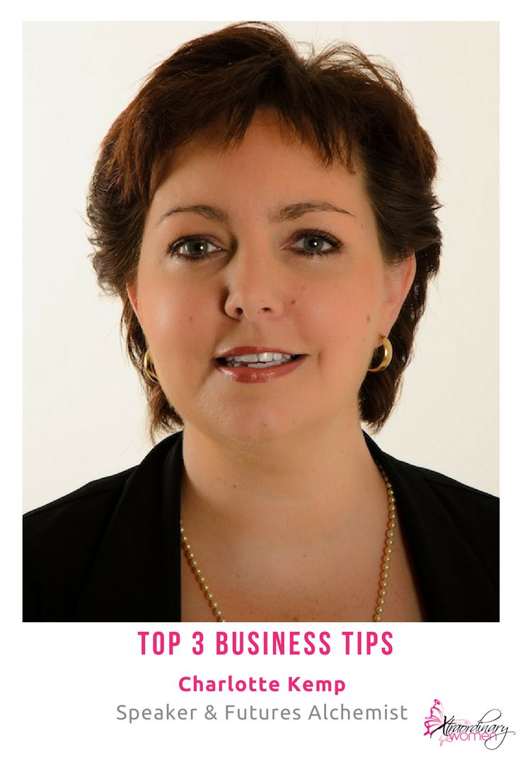 Top 3 Business Tips from our Xtraordinary Woman of the Month, Charlotte Kemp.