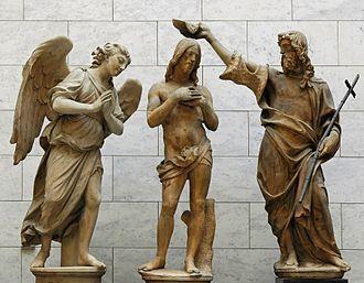 Johannes de Doper - het Heilig Doopsel van Christus.