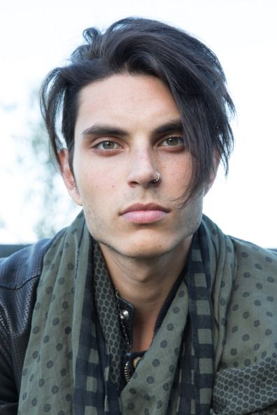 """Glee"" Star Samuel Larsen Cuts Off All His Signature Dreadlocks - something about his eyes, he's gorgeous"