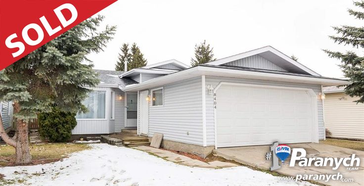 We SOLD 8404 189A St! Thinking of selling your Edmonton home? Call 780-457-4777 or visit Paranych.com for your Free Home Evaluation today!