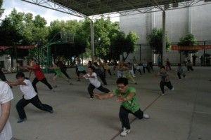 Qi Gong training China 2006