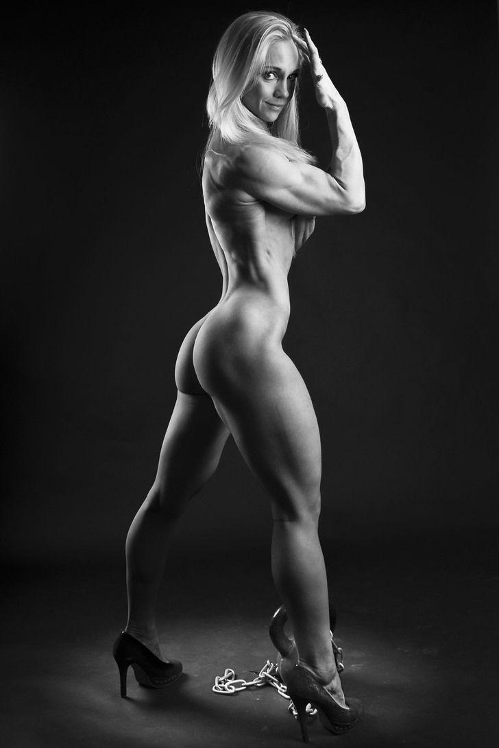 Naked fitness beauty