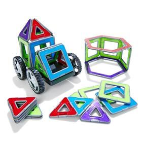 Magnetic Geometric Tiles