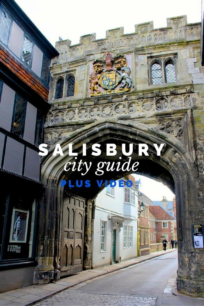 You'll find so much historic charm in Salisbury, England.  Click through to read more on my travel blog :)