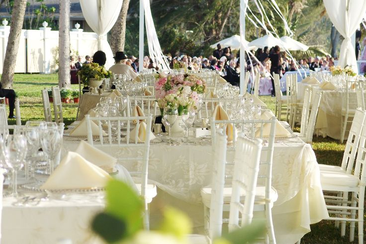 Gorgeous daytime wedding