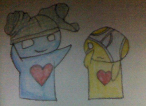 (Not best quality picture) Pon and Zi