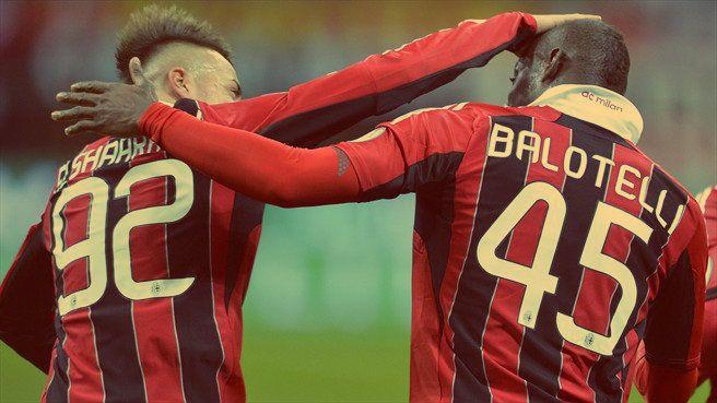 El Shaarawy and Balotelli.