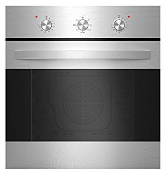 """Amazon.com: Empava 24"""" Tempered Glass Electric Built-in Single Wall Oven - Stainless Steel KQP65B-14-220V: Appliances"""