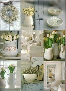 Garden Antqs Vintage: White Wednesday with Terry John Woods