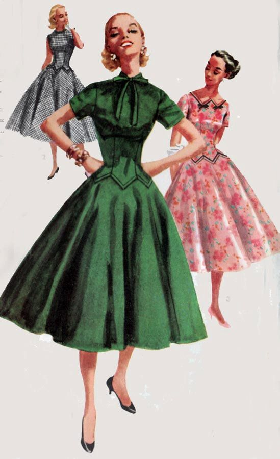 Simplicity 1409 Vintage Womens Dress Pattern By Fragolina