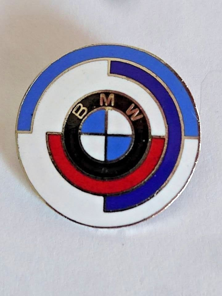 Bmw German Car Auto Logo Anstecknadel Clasp Pin Badge Rare Type