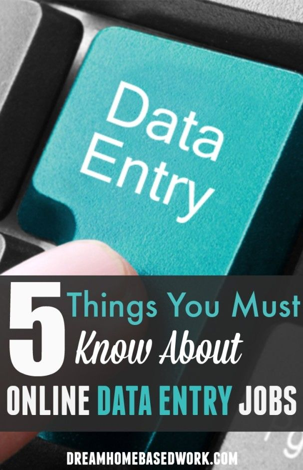 Online data entry jobs may seem easy to some people. Although this is true to some extent, there are 5 things you must know about online data entry jobs.