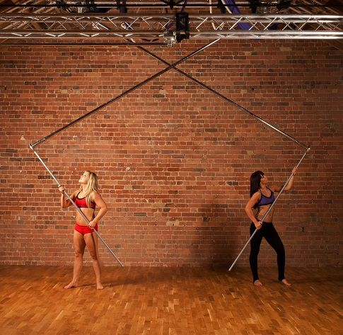 """#xpole """"Pole away"""" system. Increase your revenue by Maximising your studio space within minutes! https://www.youtube.com/watch?v=MAV0oVRa0wc"""