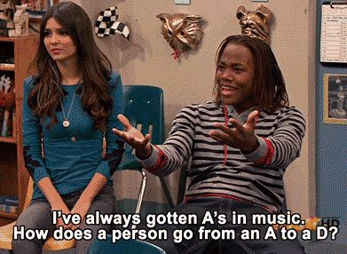 This scene from Victorious: | 27 Adults Jokes In Cartoons That You Totally Missed As A Kid [GIF]