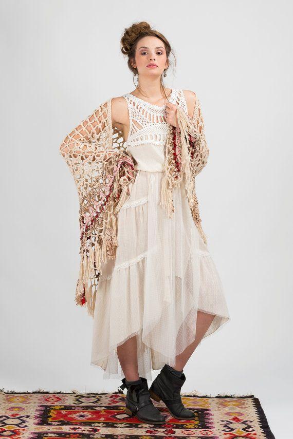 Bohemian wedding dress,Tiered wedding dress,Festival dress,Beach wedding dress,Boho dress,Summer wedding dress,Maxi Bridal Wedding Gown