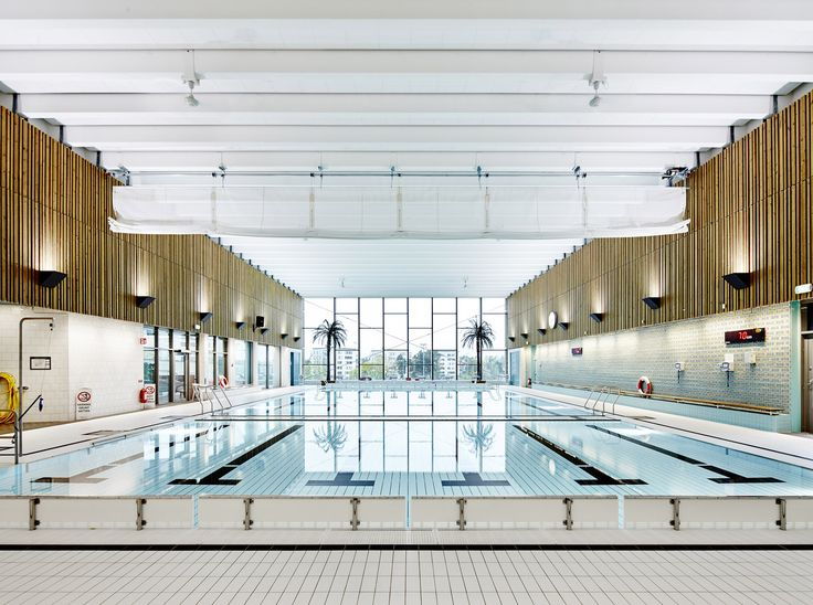 Gallery of Indoor Swimming Pool for Sundbyberg / Urban Design - 2