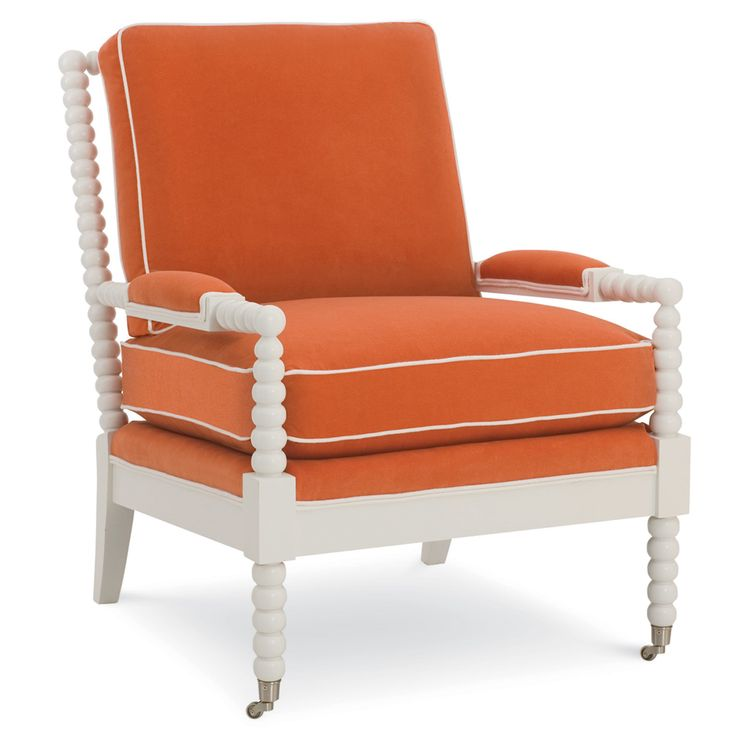 summer house upholstered furniture santa ana spool upholstered accent chair