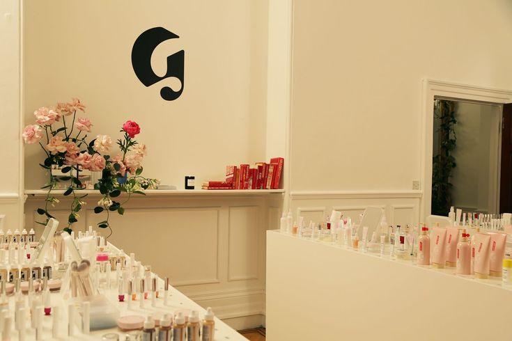 Inside Glossier's London Pop-up Store