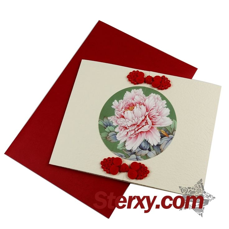 This #greetingcard is beautifully designed with the image of the peony. Penony in China is the symbol of wealth which bring the best wishes of good fortune in the Chinese new year! As a new year gift, this card will make you feel the beauty of classical Chinese art.Write down your new year wishes!