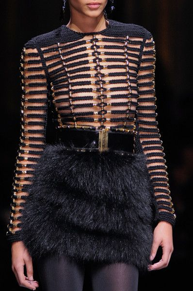 Balmain Fall 2014 - Details my goodness I love everything about this!!!
