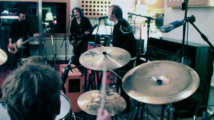 Well not from Brighton but certainly in it. The Cure with James (son of Paul) McCartney performing The Beatles 'Hello Goodbye' in Brighton Electric studios