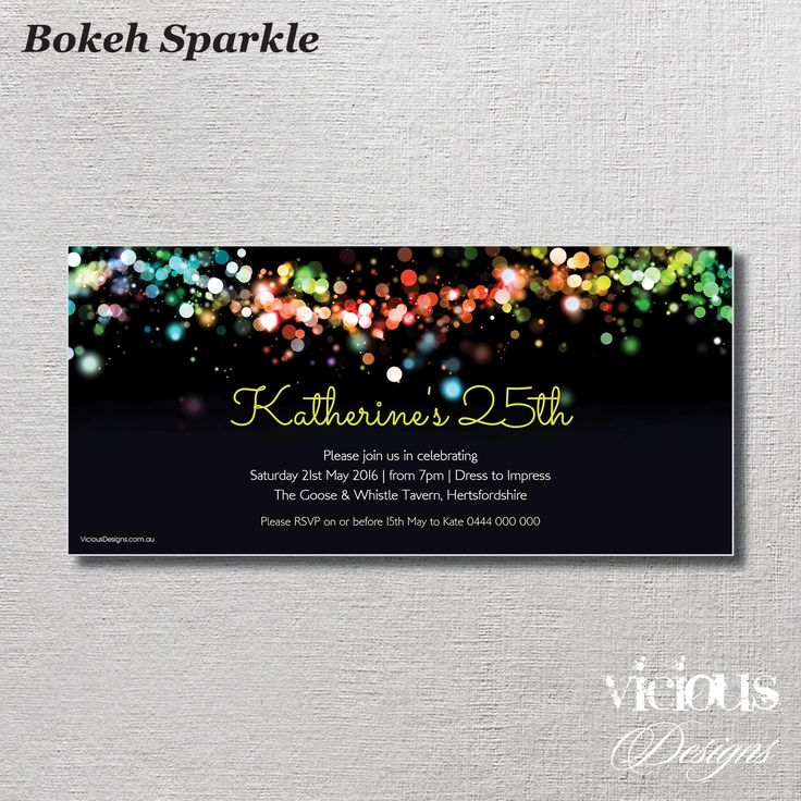Bokeh Sparkle