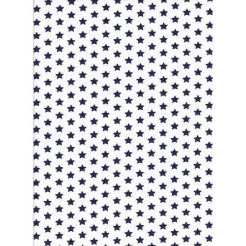 č.200 hvězdy modré na bílé