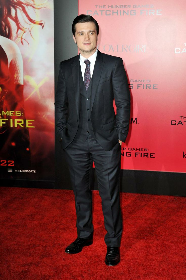 Josh Hutcherson at The Hunger Games: Catching Fire premiere.