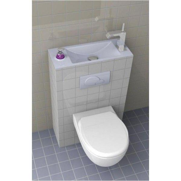 Les 106 meilleures images du tableau wc suspendu avec lave for Wc gain de place castorama