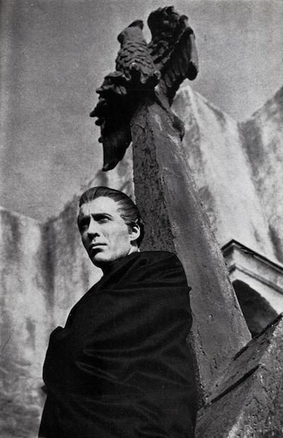 Sir Christopher Lee as Count Dracula
