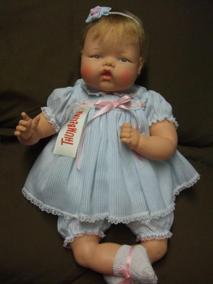 Beautiful Vintage Ideal Ott 19 Thumbelina Doll Vintage