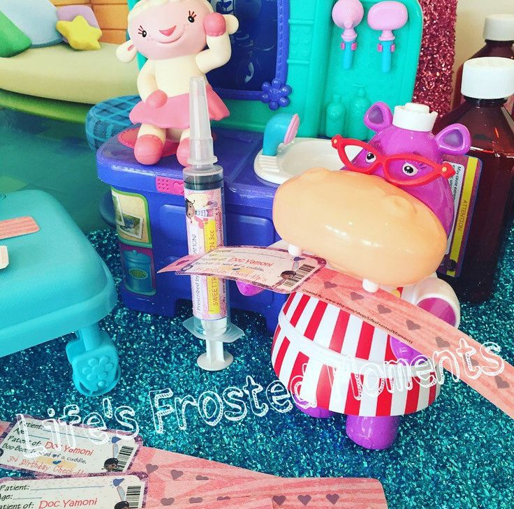 Doc McStuffins Inspired Patient Party Wristbands by LifesFrostedMoments on Etsy