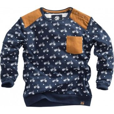 Z8 kids - Longsleeve Hero navy