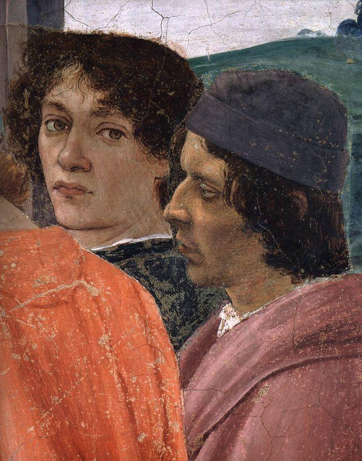 Filippino Lippi – Crucifixion of Peter (detail)  1481-82, Fresco, 230x598 cm, Cappella Brancacci, Santa Maria del Carmine, Florence