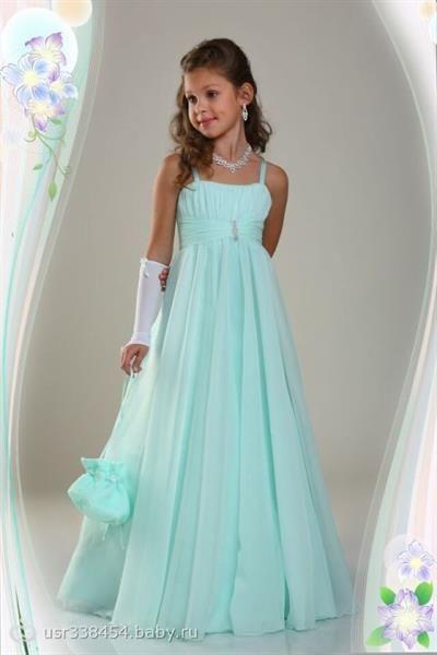 Детское платье на выпускной фото