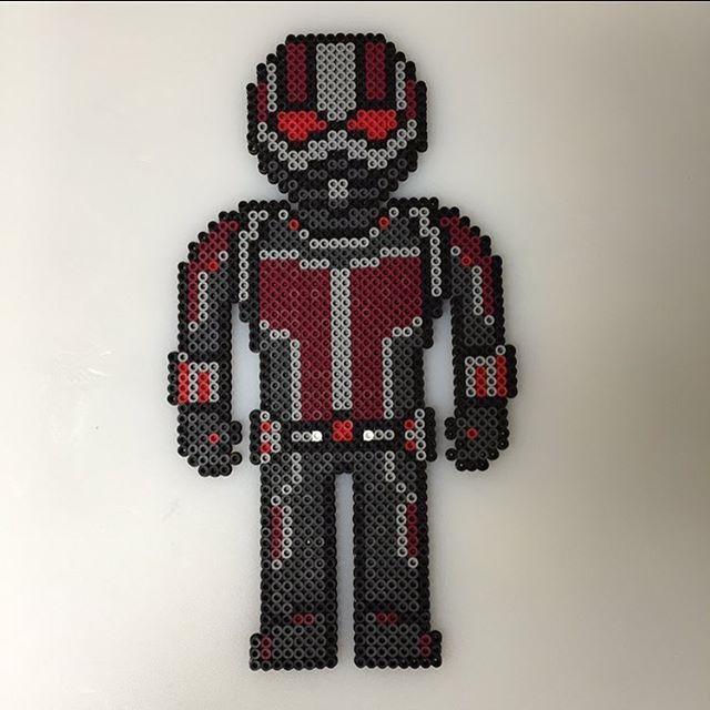 Ant Man (Marvel) perler beads by  savage_yordle