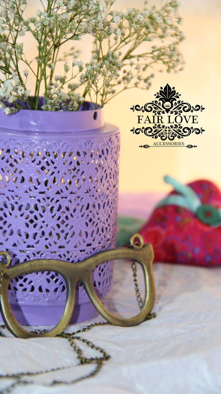 Collar gafas vintage
