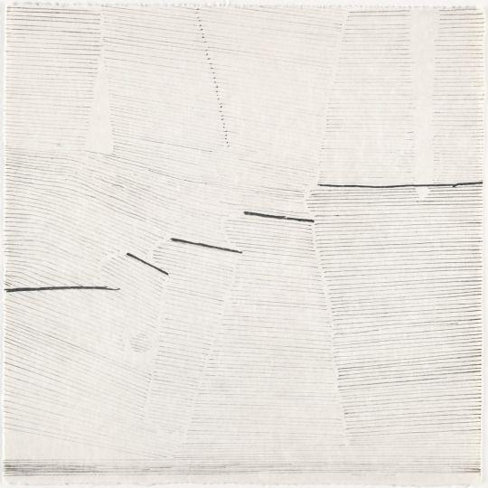 Gego (Gertrud Goldschmidt) Untitled (1966) Lithgraph