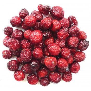 Tørkede Tranebær er en super kilde til både C-vitaminer og antioksidanter, kan også hjelpe mot urinveisinfeksjon.